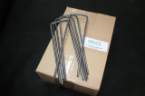 Heavy Duty U Pins ( Box 100 ) 270mm x 80mm x 270mm x 6mm Ribbed
